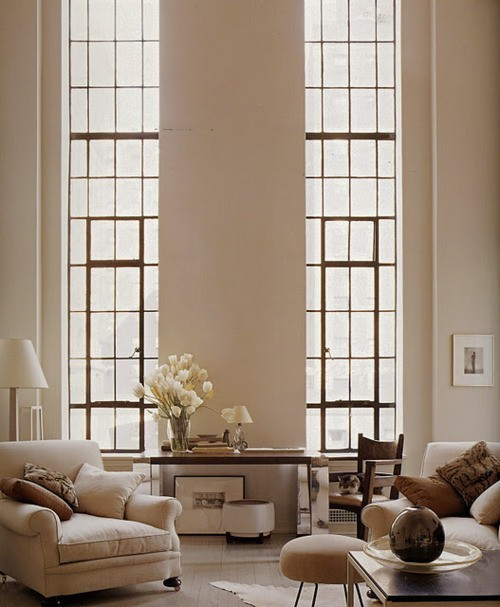 Beautiful long thin windows
