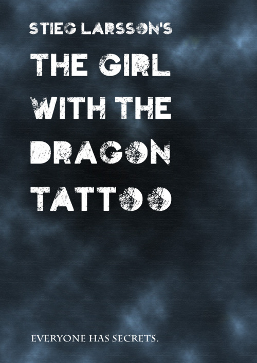 The Girl with the Dragon Tattoo by Simon Redux