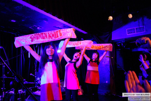 Shonen Knife in Whelans