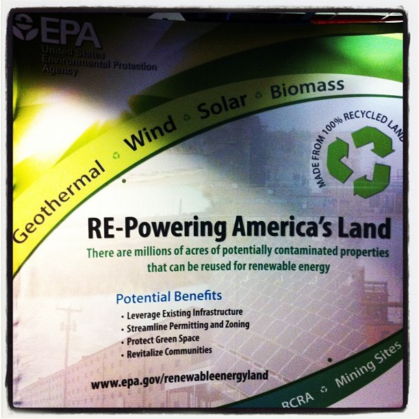 Interesting to see how the EPA brands itself #retech2012