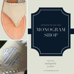 sororitysugar:  for monogram-aholics like me!