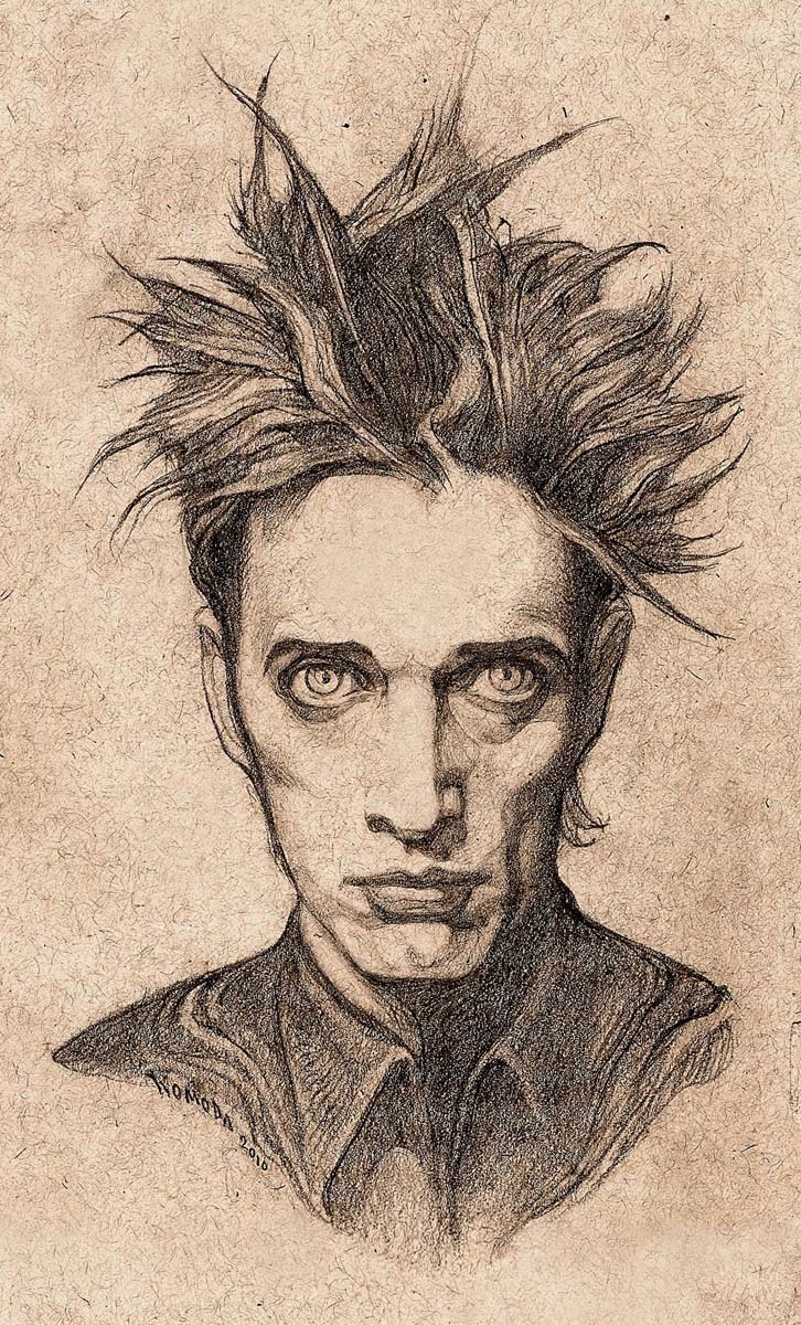 "paulkomoda:  ""Blixa"" 2010 For Coilhouse magazine"