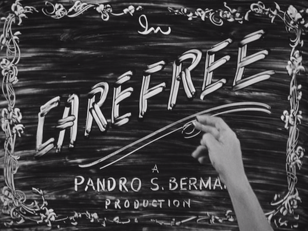 Carefree has awesome opening titles.