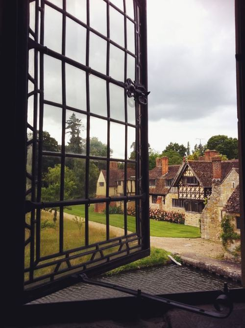 View from Anne Boleyn's bedroom ♥