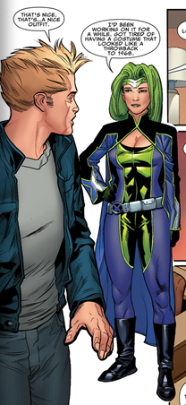 So… Lorna's new costume. Thoughts?