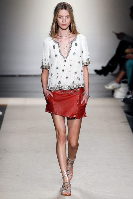 Julia Frauche at Isabel Marant, spring 2013