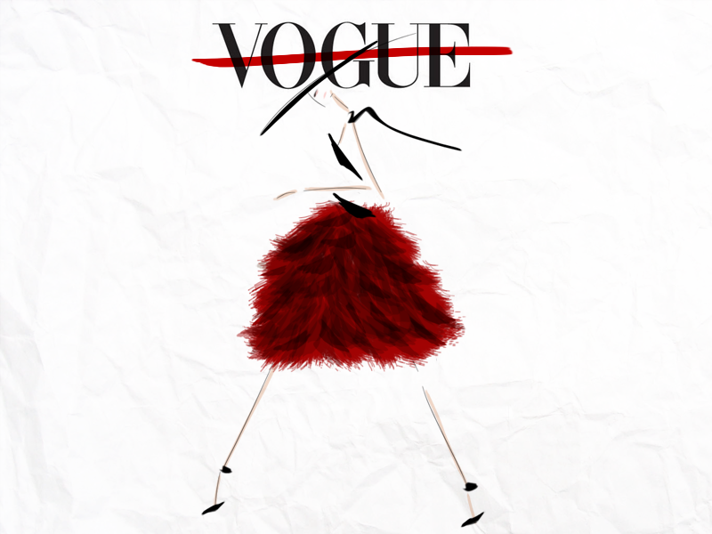 Vogue. #Illustration