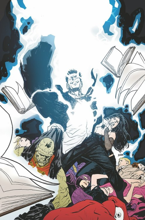 Justice League Dark loses to forces unknown on the cover to Justice League Dark Annual #1 from DC.