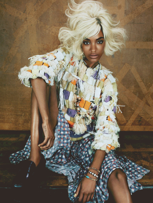 fuckyeahfamousblackgirls:  Jourdan Dunn for I-D magazine