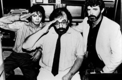 juanjomaster:  Michael Jackson, Francis Ford Coppola and George Lucas
