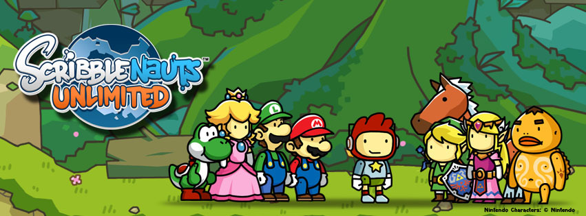 As it was blindingly obvious, Legend of Zelda and Mario characters have been confirmed for Scribblenauts Unlimited. The characters pictured above will be exclusively available in the Nintendo Wii U version of the game, sorry 3DS fans.