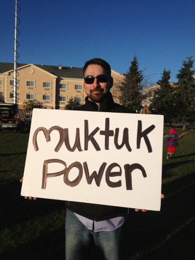 Muktuk power!