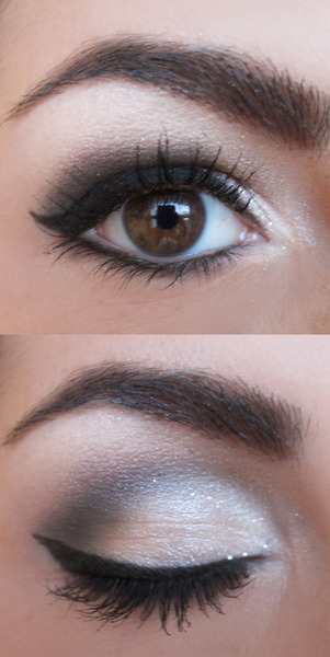 Want to get Marby B.'s silver smoky eye look? Watch her tutorial now!