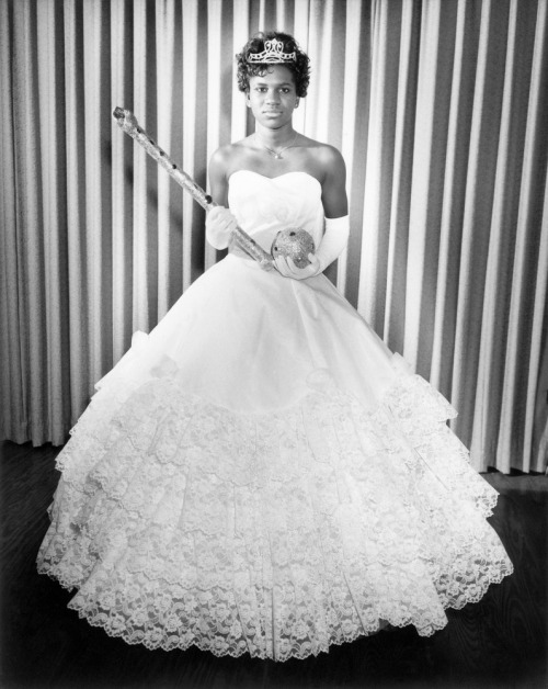 QUEEN BESS | 1960s Homecoming queen, 1960s. ©Alonzo Jordan/Courtesy of Steidl A barber by trade, Alonzo Jordan (1903–1984) took up photography to fill a need he recognized in his community of Jasper, Texas, and over the course of his career actively documented the world in which he lived and worked, focusing on those civic events, social organizations, schools, churches, and activities that were integral to the daily life of the people he served.