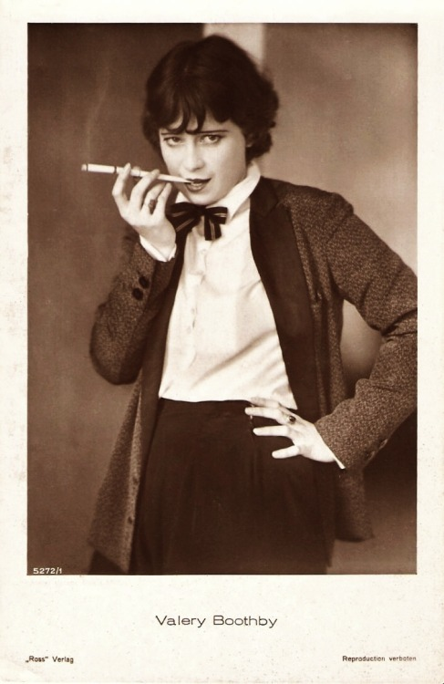 Valerie Boothby (October 18, 1906 - April 14, 1982)