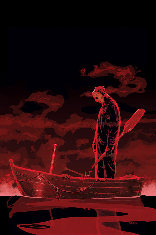 patientcomicaddict:  FRIDAY THE 13TH by Ryan Sook