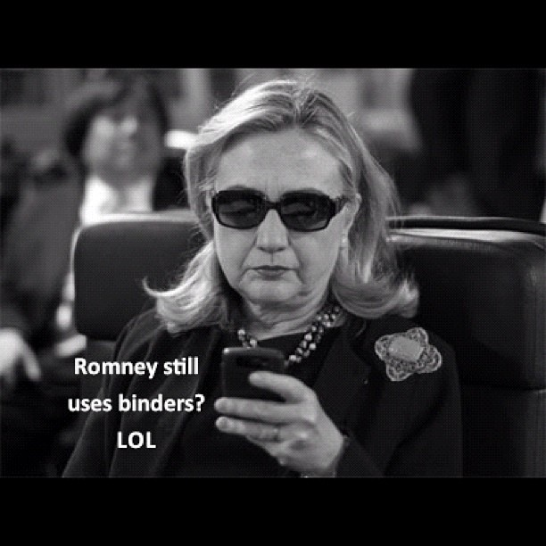 Texts from Hillary to Obama.