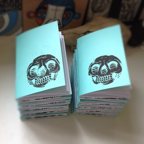 New zines! These will be for sale at my exhibition @artistresidence #hongkong and if anyone wants one email: info@markgoss.com #art #zine #design #illustration #painting #graffiti #streetart  (at Studio Mass)