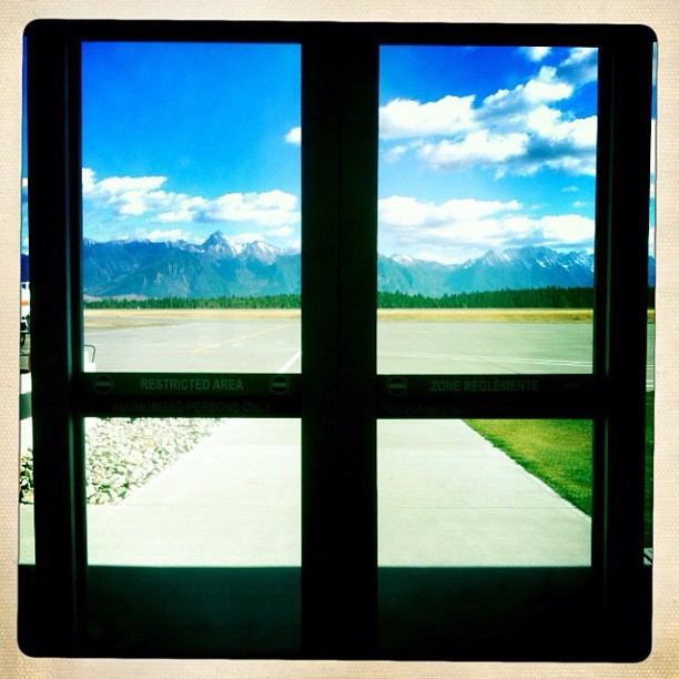 View from the cranbrook airport http://instagr.am/p/Q6BgGvC1f7/