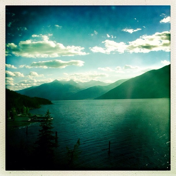 Kootenay Lake en route home from Creston http://instagr.am/p/Q6BnKvi1QC/