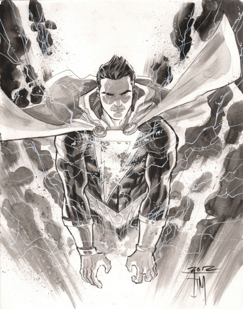 Shazam commission by Francis Manapul