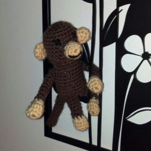 Does your fiancée crochet monkeys for you? Didn't think so…
