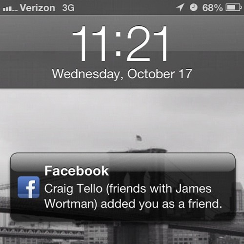 Oh, is he? Cc: @craigtello @jameswortman