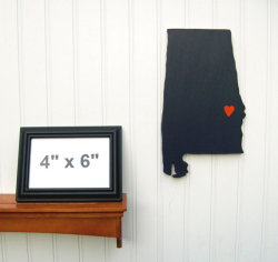 (via Auburn Tigers State Heart wall art handcrafted by StateYourTeam)