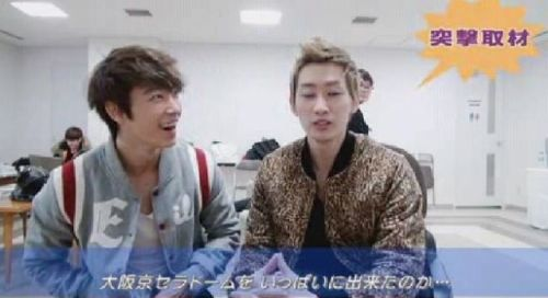 SS4 Japan backstage clip, shared on elf japan's website | cr Kyrill 何碧珠
