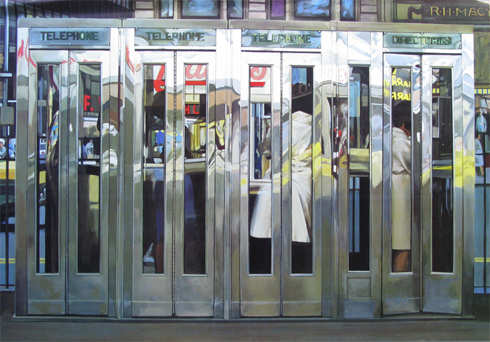 Richard Estes Telephone Booths 1968