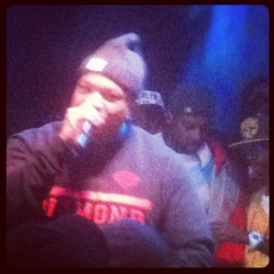 Styles P!!!! Jus dapped him out and welcomed him to columbus. Now he is killin the stage!!! Best rapper I've ever seen live. #columbus #yonkers #dblock