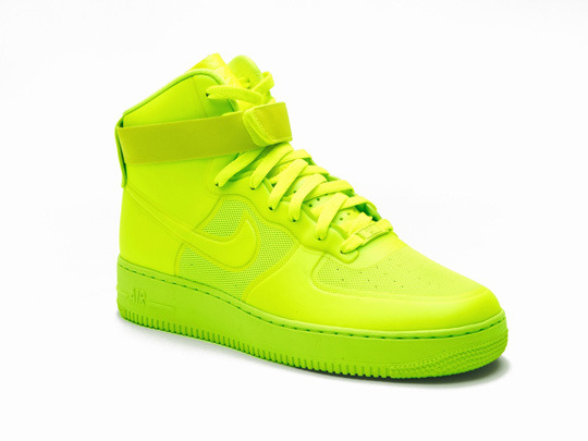 "NIKE Air Force 1 High Hyperfuse PRM ""Volt"""