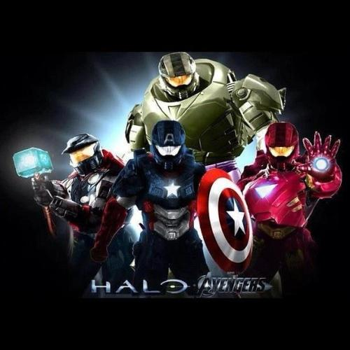 The Avengers+Halo=NEW LEVEL OF AWESOME!!!!