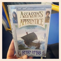 Rebought my #favourite #book Assassin's A Prentice by #robinhobb