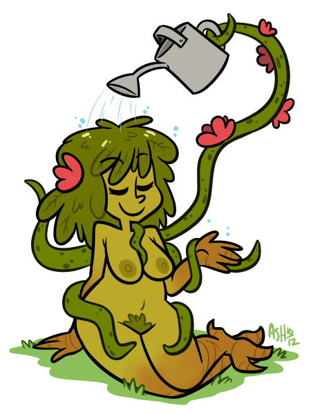 adventurerashley:  Monster girl #7: Plant lady.