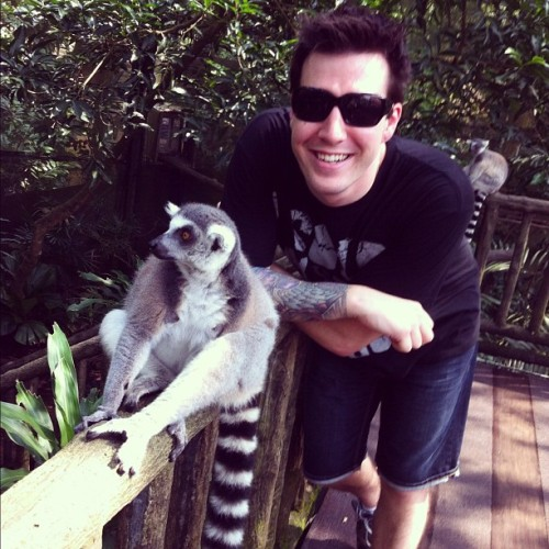 #me #singaporezoo #lemur #happy