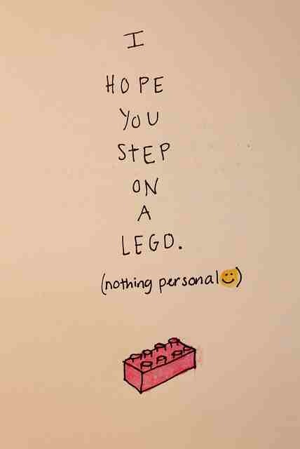 #lego #nothingpersonal #quote