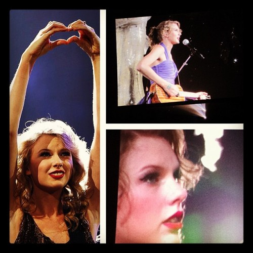 #throwbackthursday #taylorswift #speaknow #oct202011 #bestconcert @madzz6 💜