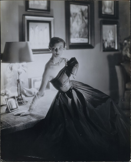 GEORGE PLATT LYNES possibly Evelyn Tripp, circa 1952
