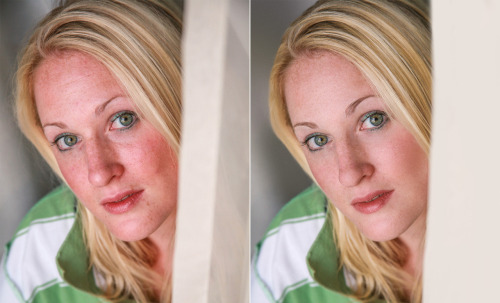 High-End Photo Retouching: This is my first attempt at high-end photo retouching. After studying material from famous retoucher, Natalia Taffarel I had tried to do a lot of the skin retouching with split frequency techniques as well as fixing the red tones in her skin. It is not Vanity Fair, Vogue, or W magazine ready- but I am satisfied with the first outcome. Still a lot more to learn.  stock photo came from http://www.sxc.hu/