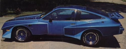Chevrolet Monza IMSA Street Hot Rod 1985