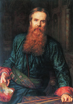 William Holman Hunt, self-portrait (1867)
