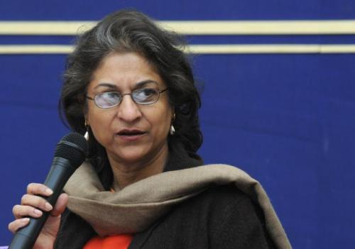 "Asma Jilani Jahangir: Why she kicks ass She is a leading Pakistani lawyer, advocate of the Supreme Court of Pakistan, President Supreme Court Bar Association of Pakistan and human rights activist, who works both in Pakistan and internationally to prevent the persecution of religious minorities, women, and exploitation of children. She was the United Nations Special Rapporteur on Freedom of Religion or Belief from August 2004 to July 2010 (first attached to the former Commission on Human Rights, now to the Human Rights Council). Previously, she served as the UN Special Rapporteur on Extrajudicial, Arbitrary and Summary Executions.  She is a founding member of the Human Rights Commission of Pakistan, and has served as Secretary-General and later Chairperson of the organization. Jahangir and her sister, joined with fellow activists and lawyers to form the first law firm established by women in Pakistan.  In the same year they also helped form the Women's Action Forum (WAF); a pressure group campaigning against Pakistan's discriminatory legislation, most notably against the Proposed Law of Evidence, where the value of a woman's testimony was reduced to half that of a man's testimony, and the Hadood Ordinances, where victims of rape had to prove their innocence or else face punishment themselves.  On February 12, 1983, the Punjab Women Lawyers Association in Lahore organised a public protest (one of its leaders was Jahangir) against the Proposed Law of Evidence, during which Jahangir and other participating WAF members were beaten, teargassed, and arrested by police. In 1982 Jahangir earned the nickname ""little heroine"" after leading a protest march in Islamabad against a decision by then-president Zia ul Haq to enforce religious laws and stated: ""Family laws [which are religious laws] give women few rights"" and that ""They have to be reformed because Pakistan cannot live in isolation. We cannot remain shackled while other women progress."" In 1986 Jahangir and Hina set up AGHS Legal Aid, the first free legal aid centre in Pakistan. The AGHS Legal Aid Cell in Lahore also runs a shelter for women, called 'Dastak'. She won the Supreme Court Bar Association election by defeating her competitor Ahmed Awais and securing 834 of total votes and became the first ever women President of SCBA in the history of Pakistan.   She has recived; the Martin Ennals Award for Human Rights Defenders as well as the Ramon Magsaysay Award for ""greatness of spirit shown in service of the people"", the Millennium prize, by UNIFEM (the United Nations Development Fund for Women) in collaboration with the non-governmental organisation International Alert, the Freedom of Worship Medal for her human rights and religious freedom activism in a ceremony held in the Nieuwe Kerk in Holland, the Hilal-i-Imtiaz, the second highest civilian award of Pakistan and the 2010 UNESCO/Bilbao Prize for the Promotion of a Culture of Human Rights, recognizing her efforts as a human rights defender. (via womenwhokickass)   Follow us on Facebook 