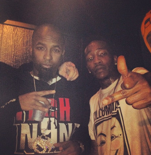 thejezz:  Tech N9ne and Dizzy Wright  Real shit, this photo makes me happy as fuck yo