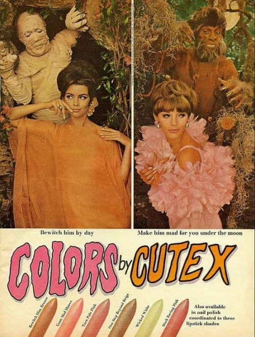 Colors by Cutex… 1960s advertisement.