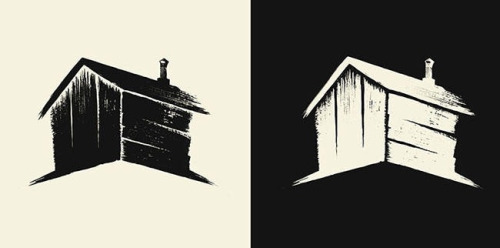 ollymoss:  Logo for The Woodshed, a new production company founded by Elijah Wood and focusing on elevated genre films. I don't get to do branding jobs very often so this was a real pleasure.