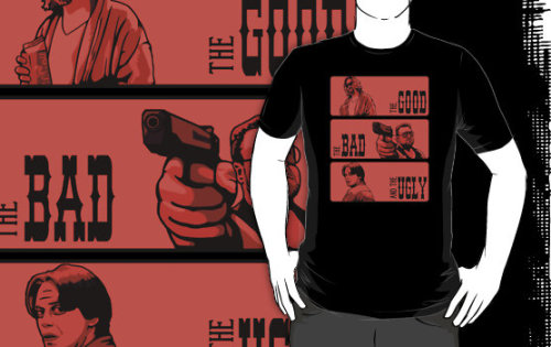 "dutyfreak:  ""The Big Lebowski, the bad and the ugly"" T-Shirts & Hoodies by dutyfreak 