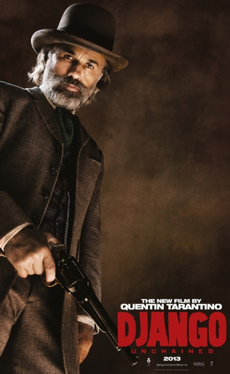 Character Poster: Christoph Waltz in 'Django Unchained' | Comic Book Movie