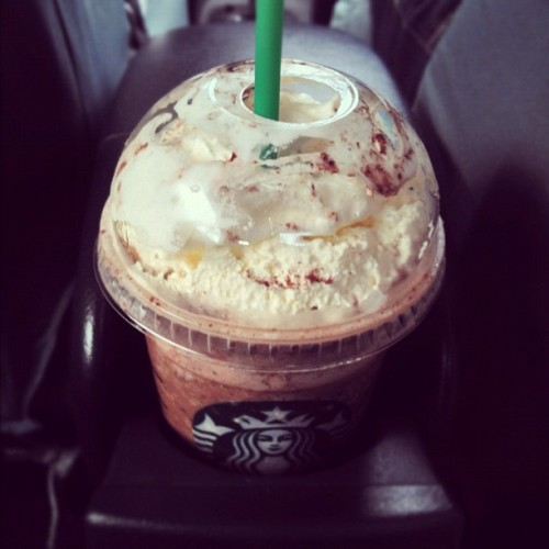 (at Starbucks Coffee)