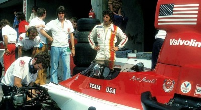 what we miss … AmericansMario Andretti, Parnelli Jones-Ford VPJ4, 1975 F1 World Championship